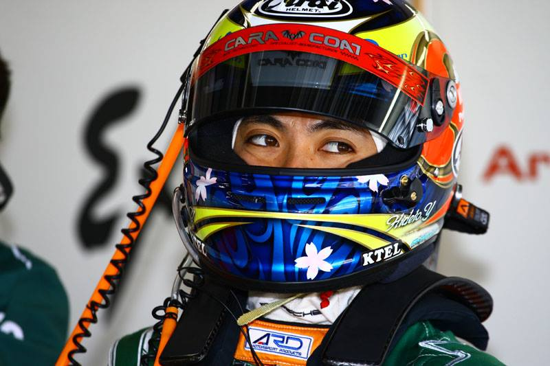 Hideto Yasuoka 安岡秀徒 レーシングドライバー