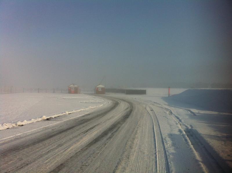 2013年1月 オートスポーツ取材 雪のスネッタートンサーキット