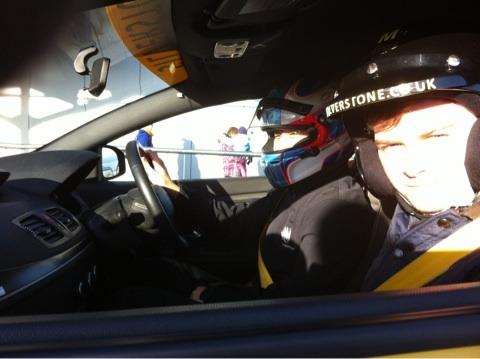 中納 徹 同乗走行 2013年2月 シルバーストーン